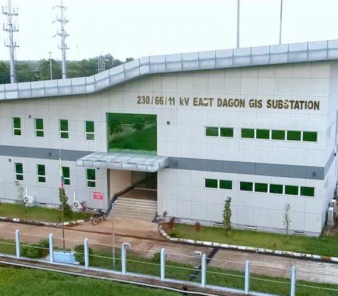 230kV GIS Sub Station East Dagon