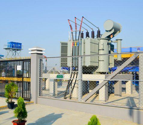 33/ 11 kV, 5 MVA Kamarkaloat – Kayinchaung Substation in Kyauttan Township