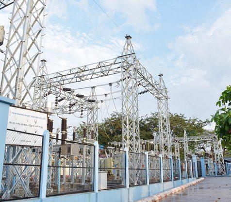 66/33/11kV 20 MVA Mawlamyaing – Thanphyuzayet Substation and Transmission Line