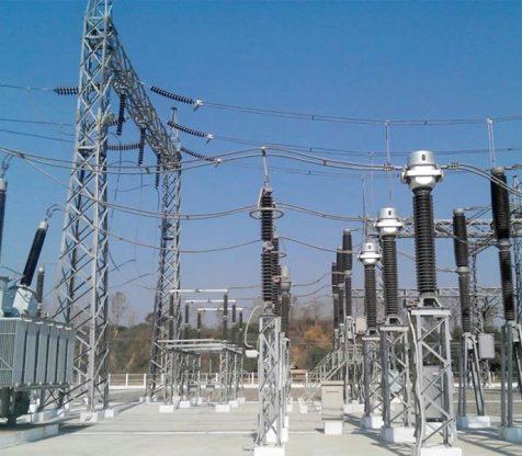 230/66/11kV,100MVA Ponnagyun substation