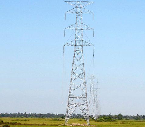 230 kV Phayargyi (Kamanat – Myaungtadar) Transmission Line (23 miles)